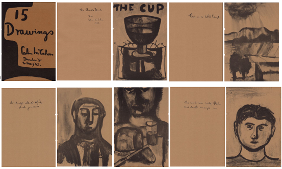 Colin McCahon (1919-1987) – 15 Drawings
