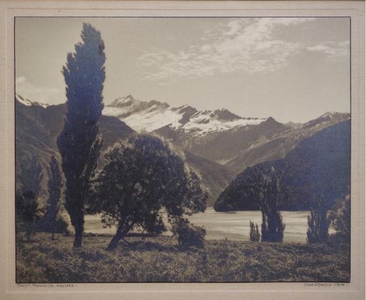 George Chance – Mount Avalanche, Wanaka – Gelatin Silver print c.1920